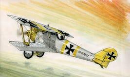 WW1 Pfalz DIII Стоковые Фото