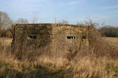 Ww2 pillbox Stock Photo