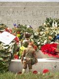 WW1 pomnik żołnierze zdjęcia royalty free