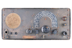 Ww2 radio communications receiver Royalty Free Stock Image