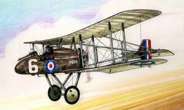 WW1 RAF FE8 obrazy royalty free