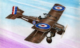 WW1 SE5a Стоковые Изображения