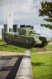 Ww2 sherman tank. A sherman tank on display Stock Image