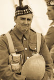 WW1 soldier Stock Images