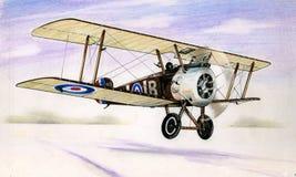 WW1 Sopwith骆驼 免版税图库摄影