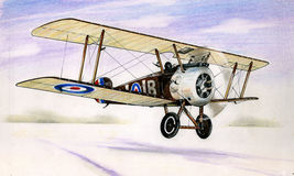 WW1 Sopwith Camel Royalty Free Stock Photography