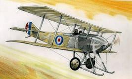 WW1 Sopwith tabloïd illustration stock