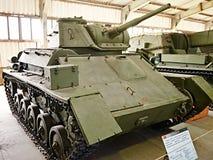 WW2 Soviet light Panzer T-80 Royalty Free Stock Images