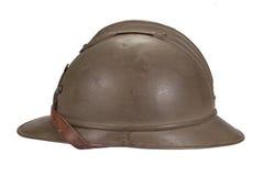 WW1 steel helmet Stock Images