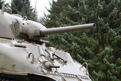 WW2 tank close-up Royalty Free Stock Photos