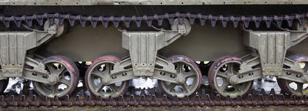 WW2 tank close-up Royalty Free Stock Image