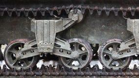 WW2 tank close-up Stock Images
