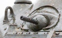 WW2 tank close-up Royalty Free Stock Photo