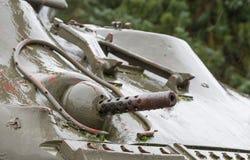 WW2 tank close-up Stock Photos