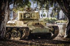 WW2 tankoverblijfsel royalty-vrije stock afbeeldingen