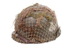 Ww2 US military helmet royalty free stock photo