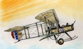 WW1 Vickers FB5 Gunbus illustration libre de droits