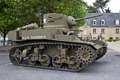 WW2 vintage tank Royalty Free Stock Photo