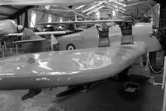 Ww2 vliegtuigenvleugelpunt Royalty-vrije Stock Afbeeldingen