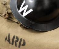 WW2 wardens hemet Royalty Free Stock Photos