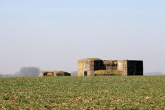 Free WW1 Bunker System Stock Image - 13658181