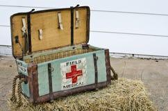 WW1 Field Medical supply box Stock Photography