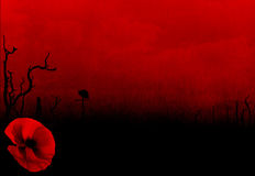 Free WW1 First World War Abstract Background With Poppy Stock Photo - 39472440