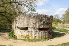 Free WW1 Foxhole Trench Of Death In Diksuimde Flanders Belgium Royalty Free Stock Photos - 40159908