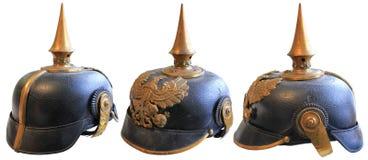 WW1 helm Stock Afbeeldingen