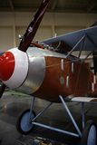 WW1 plane. Replica of old WW1 plane Royalty Free Stock Images