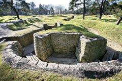 WW1 trench at Vimy Ridge royalty free stock image