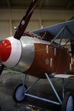 WW1 vliegtuig Royalty-vrije Stock Afbeeldingen