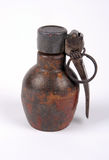 WW11 French grenade. French WWII and after DF37 grenade with M1935 type fuse assembly Royalty Free Stock Photos