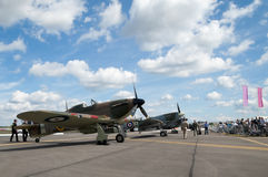 WW2 fighters Royalty Free Stock Photography