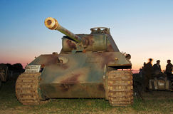 WW2 German tank Royalty Free Stock Photography