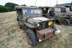 WW2 jeep Royalty-vrije Stock Fotografie