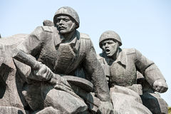 WW2 memorial in Kiev Stock Photos