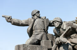 WW2 memorial in Kiev Stock Photography