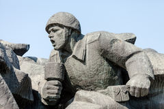 WW2 memorial in Kiev Stock Image