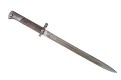 Ww2 period bayonet Stock Photo