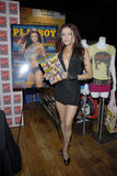 WWE Diva Maria Kanellis appearing. WWE Diva Maria Kanellis signing her issue at Virgin Megastore in Hollywood in May 2008 Stock Photo