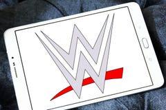 WWE, entretenimiento de lucha del mundo, logotipo Imagen de archivo libre de regalías
