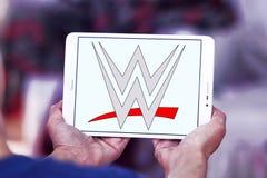 WWE, entretenimiento de lucha del mundo, logotipo Imagen de archivo