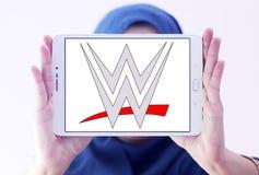 WWE, entretenimiento de lucha del mundo, logotipo Foto de archivo libre de regalías