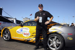 WWE Sgt. Slaughter and NASCAR pace car Royalty Free Stock Photo