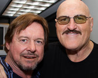 WWE Sgt. Slaughter and Rowdy Roddy Piper Stock Photography