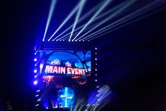 WWE in tensione a Amburgo, maggio 2019 fotografie stock