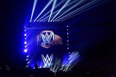 WWE in tensione a Amburgo, maggio 2019 immagini stock