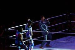 WWE in tensione a Amburgo, maggio 2019 fotografia stock libera da diritti