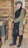 WWI英国陆军教士 库存照片